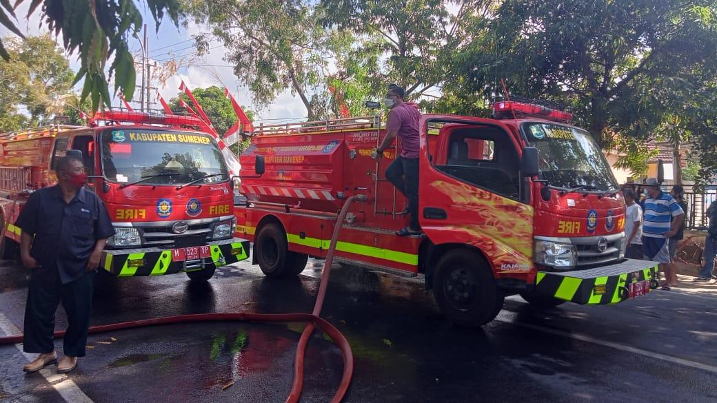 Kebakaran Rumah Warga di Sumenep, Kerugian Capai 700 Juta