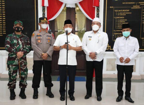 Kunjungi Sampang, Moeldoko Bawa 2 Agenda Utama, Apa saja ?