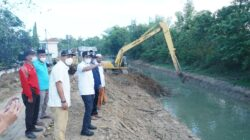 Antisipasi Banjir Tahunan, Daerah Aliran Sungai Blega di Normalisasi