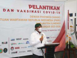 DPC PWRI Sumenep Dilantik, Bupati Fauzi Titipkan Tiga Pesan