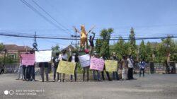 Soroti Kinerja OPD, Puluhan Mahasiswa Demo Kantor Bupati Sumenep