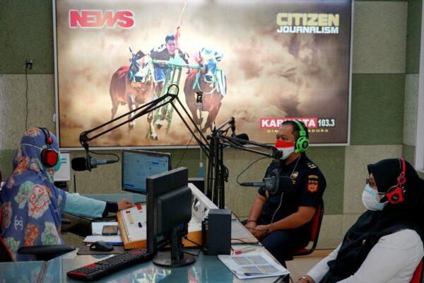 Bea Cukai Madura Gandeng Media Massa dan KIM Sosialisasikan Pemanfaatan DBHCHT