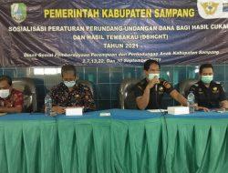 Stop Rokok Ilegal, Dinsos P3A Sampang Bersama Bea Cukai Gelar Sosialisasi Ketentuan Cukai dan DBHCHT