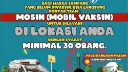 Dinkes KB Sampang Permudah Layanan Vaksinasi Dengan MOSIN