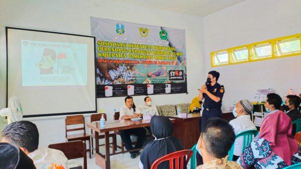 Sosialisasi DBHCHT, Bea Cukai bersama Pemkab Pamekasan Ajak Masyarakat Perangi Rokok Ilegal