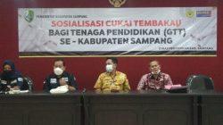 Disdik Sampang Gelar Sosialisasi Ketentuan Cukai dan DBHCHT Bagi Tendik GTT