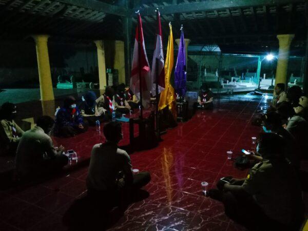 Hari Pramuka, Racana Jokotole dan Potre Koneng STKIP PGRI Gelar Ulang Janji di Asta Tinggi Sumenep