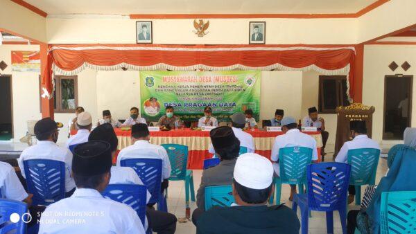 Tingkatkan Pembangunan Desa, Pragaan Daya Gelar MUSDES RKPDes dan RAPBDes