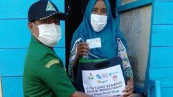 GUSDURian Peduli Sumenep Salurkan Bantuan Sembako di Pulau Sapeken