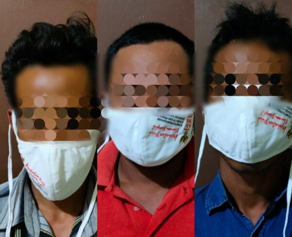 Polisi Gerebek Tiga Warga Ganding Saat Asyik Pesta Sabu
