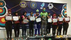 Atlet PERPANI Borong Medali di Ajang Navy Fly Archery Lanudal TNI AL Juanda