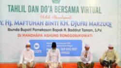 Tahlilan Bersama untuk Ibunda Bupati, Puluhan Masjid dan Pesantren di Pamekasan Berpartisipasi