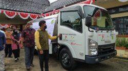 KEI Serahkan Satu Unit Bantuan Mobil Tangki, Bupati Sumenep Ucapkan Terimakasih