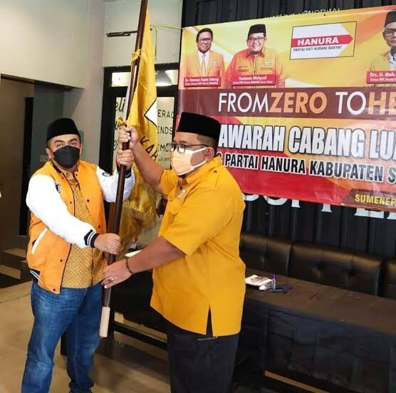 Pasca Terpilih Ketua DPC Hanura Sumenep, Ramzi Mulai Siapkan Kader Siap Tarung di Pileg 2024